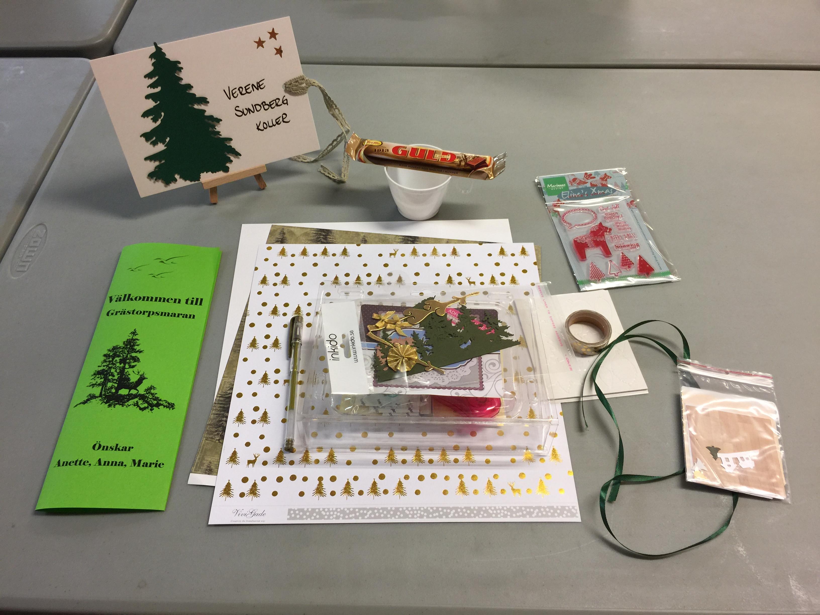 """Årets velkomst på Grästorpsmaran - temaet var """"Guld och gröna skogar"""""""