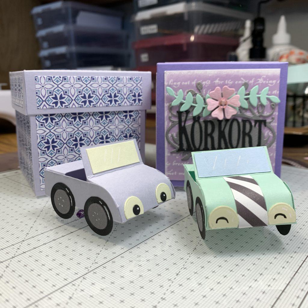 Eksplosjonsboks og bil